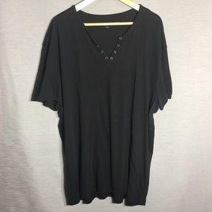 John Varvatos men's black tee shirt
